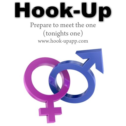 hook-up app logo